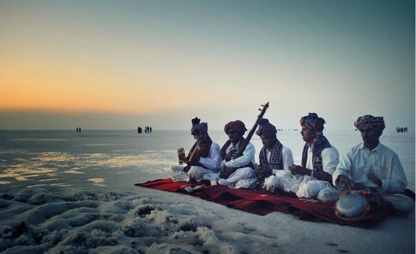 Rann of Kutch culture and white sand